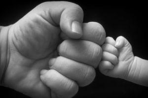 Baby Fist Bump